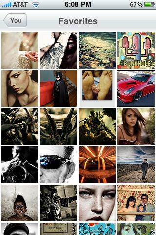 Lovin' the new Flickr iPhone app.