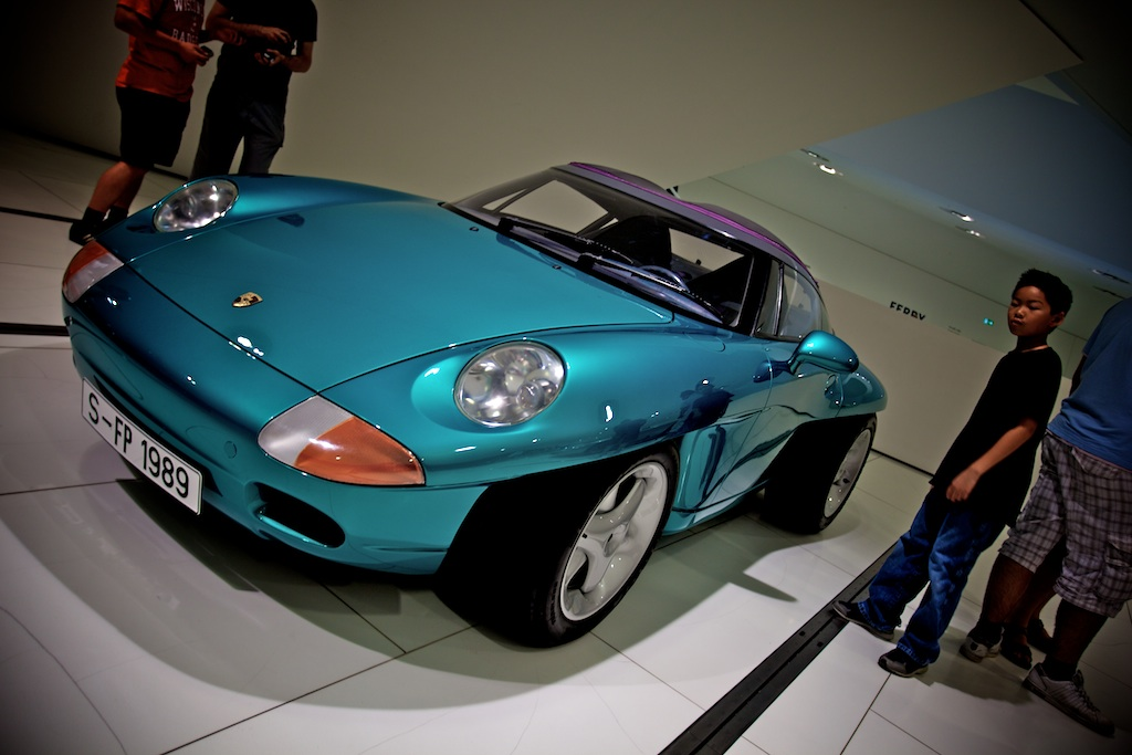 Day 5: Photos from the Porche Museum.