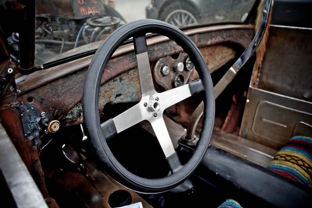 Awesome car made from scraps