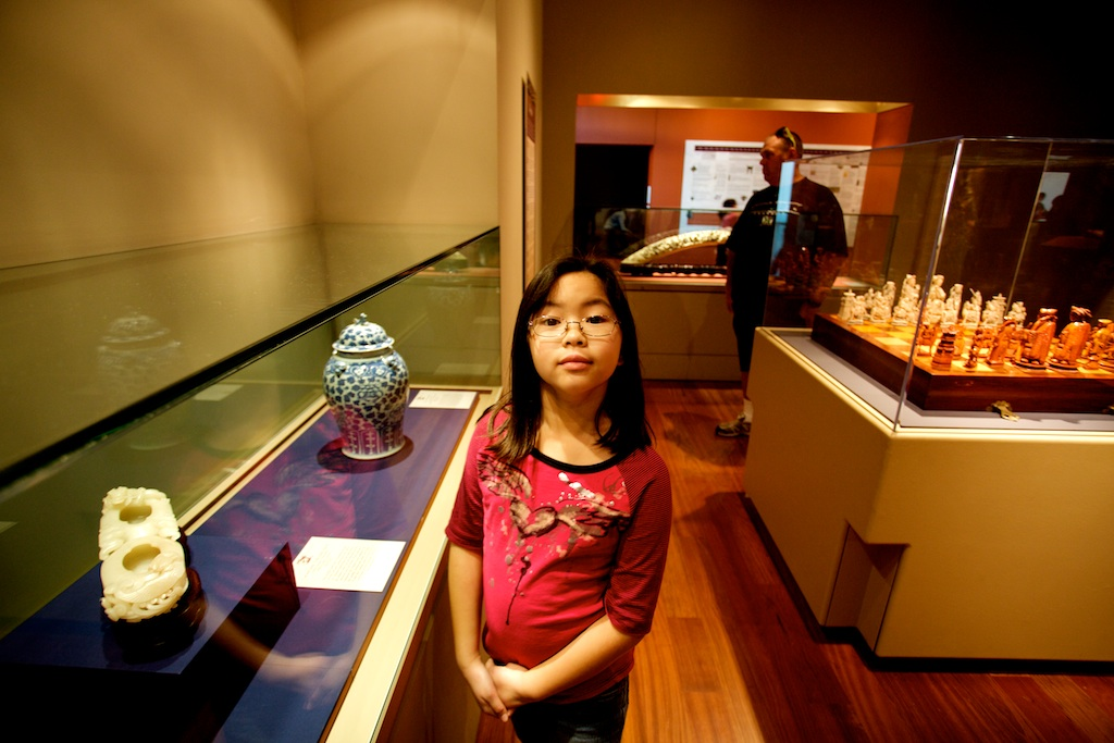 A few snapshots from our trip to the Bowers Museum