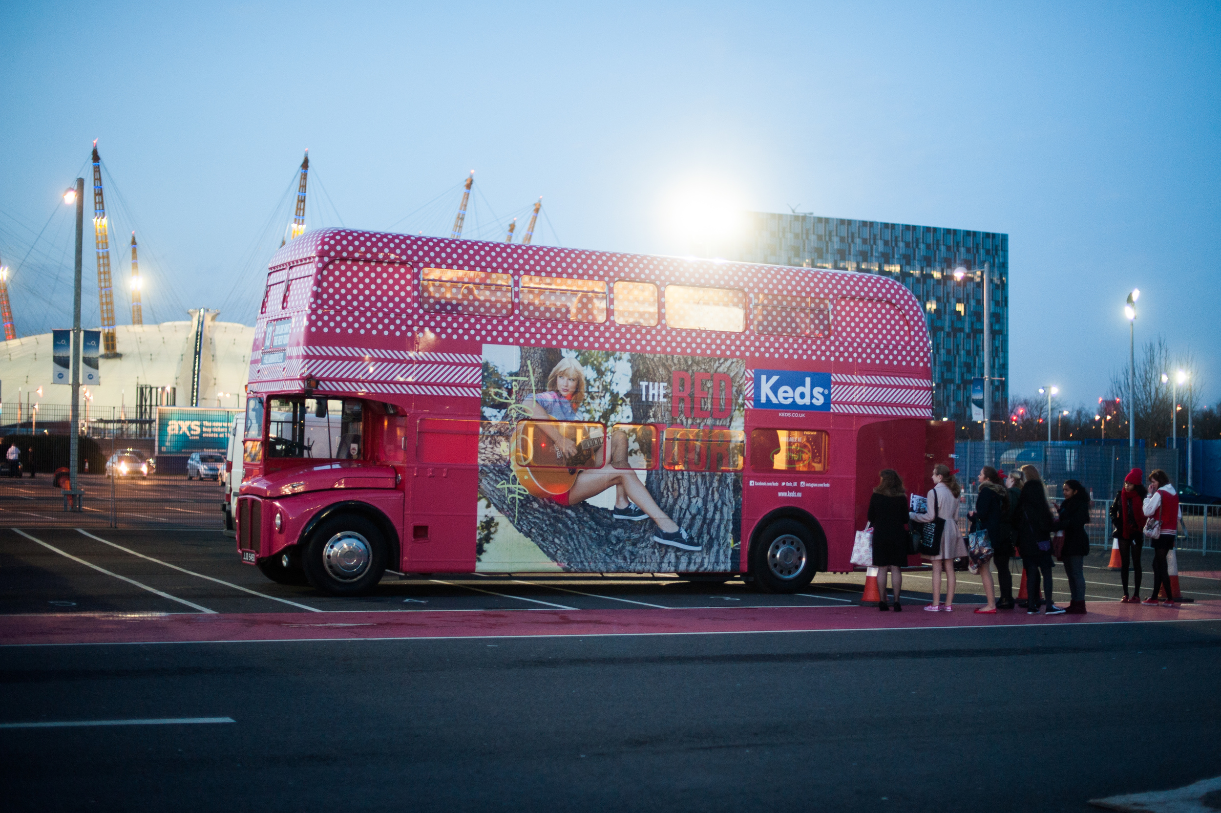 The Tour Bus at the O2