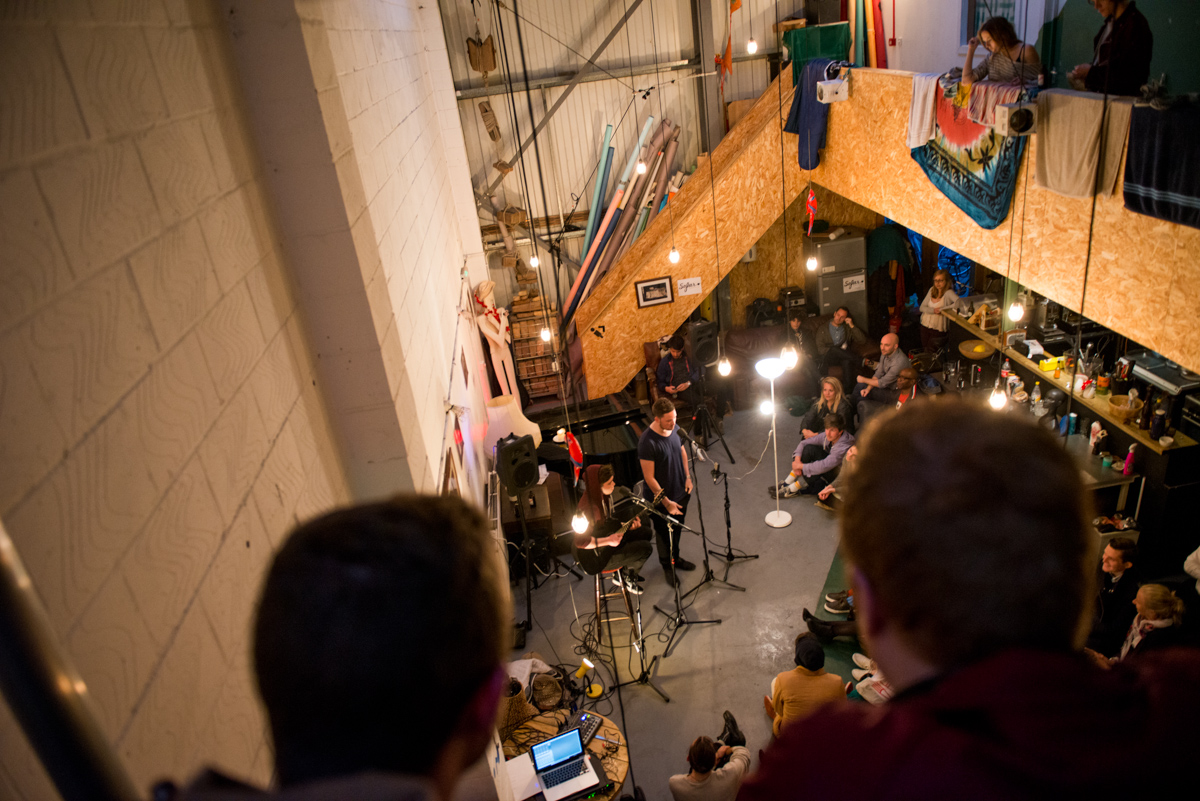 This one held in a warehouse flat's lounge space, the Sofar gigs move secret venue every time, and cost just a donation to attend