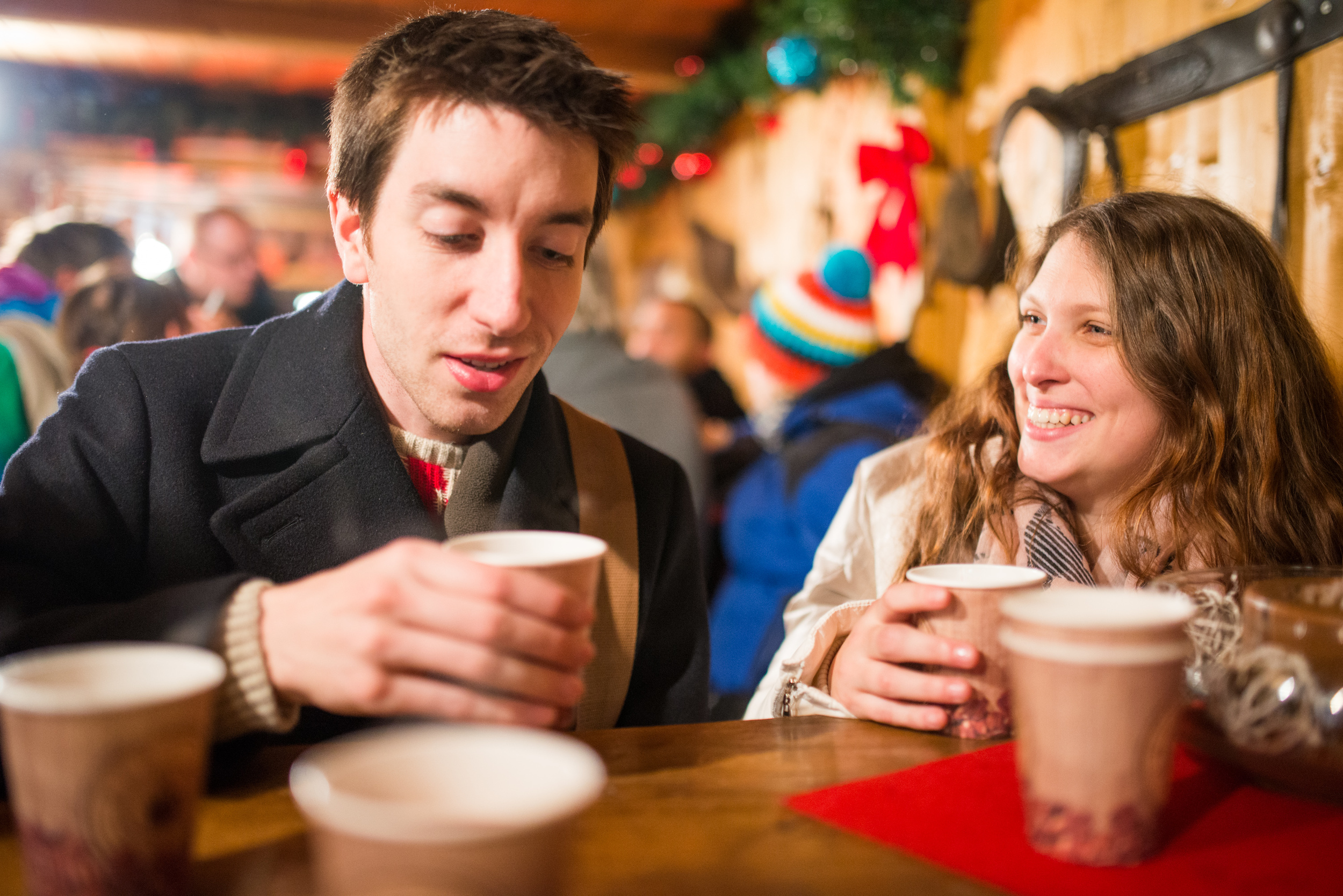 Glühwein is a very important part of the Christmas Markets. Very, very important.