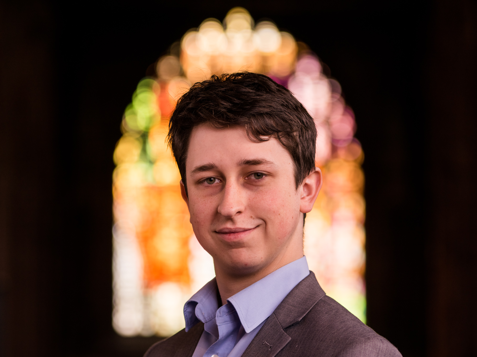 Great to shoot some portraits of the team too - Aaron Shilson is the Organ Scholar at the Cathedral