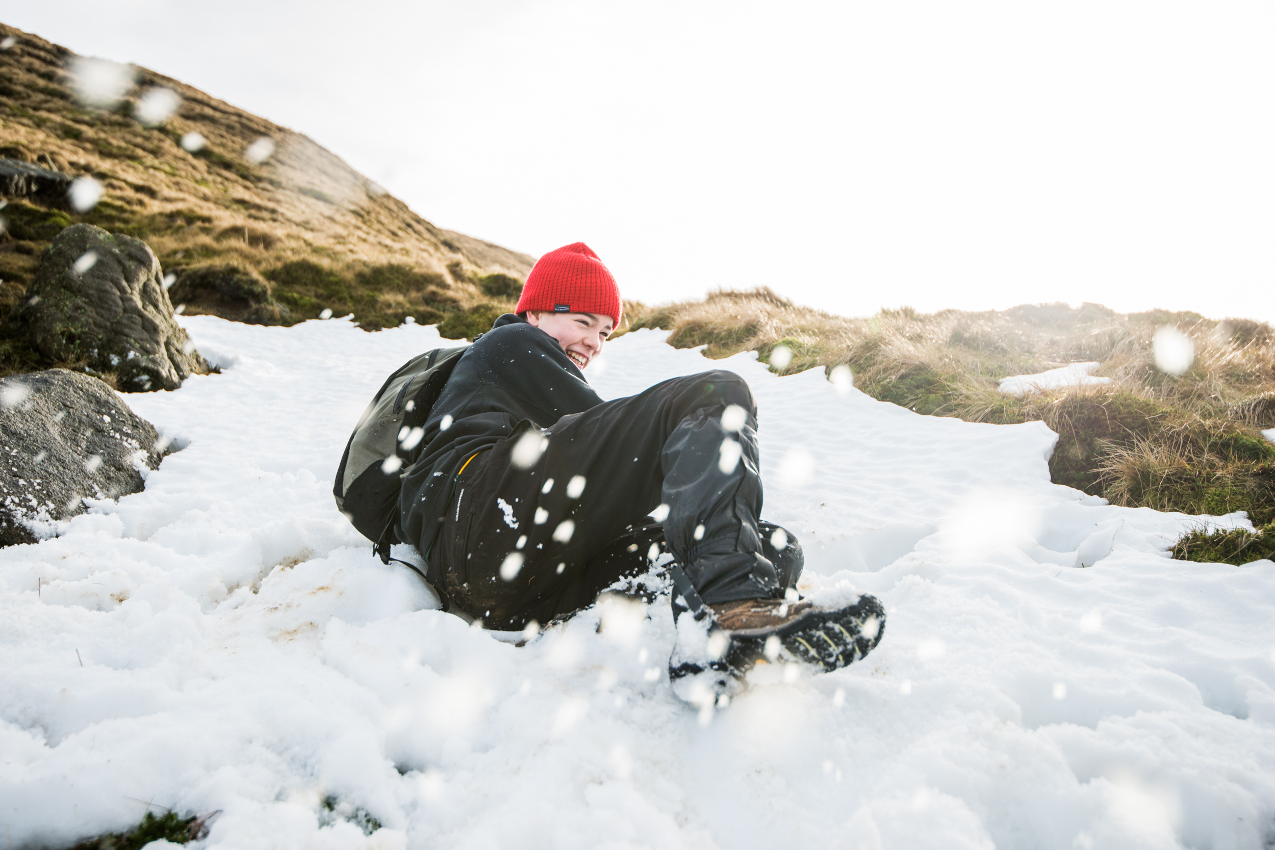 The Peak district gave us plenty of fun in the snow