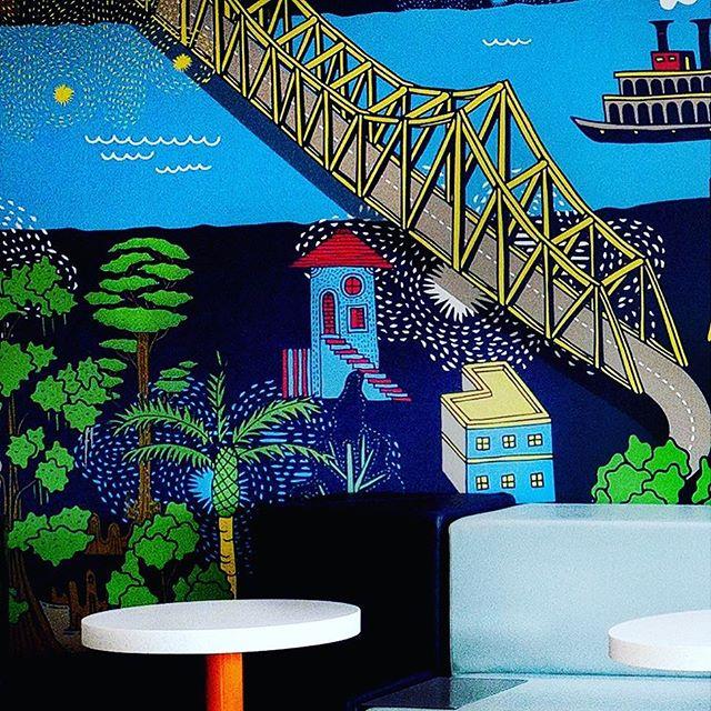 ✨Sneak peek✨ @trubyhilton mural details