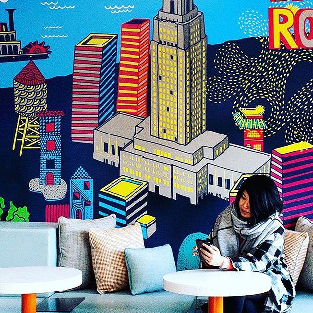 Sneak peek! 🤗 @trubyhilton mural details in Baton Rouge, LA.
