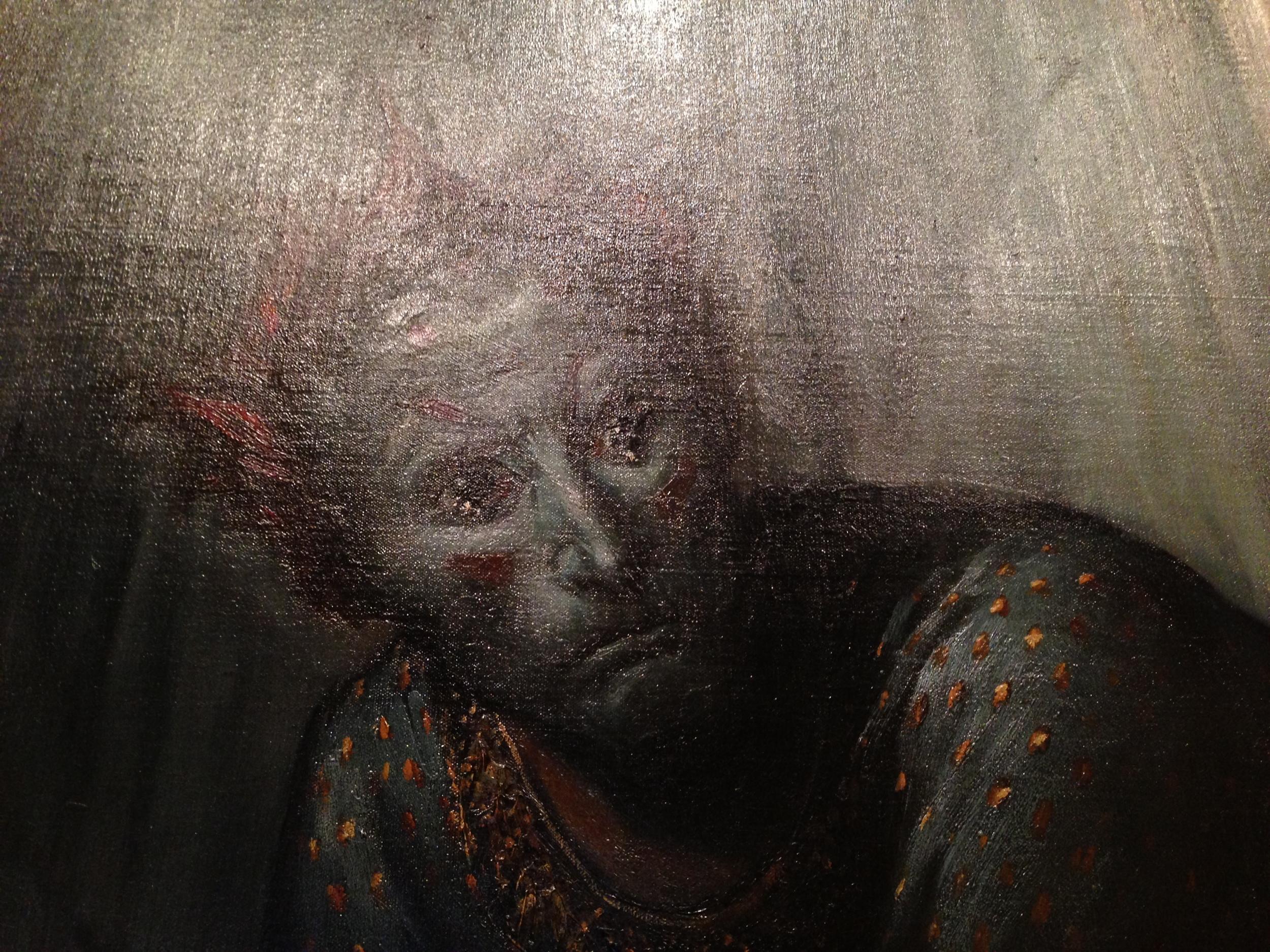 Angst on a father's face - La Famille du Saltimbanque: L'enfant Blessé by Gustave Doré