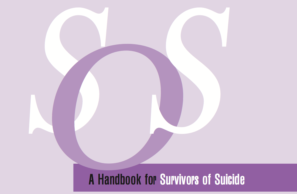 Suicide Survivor's Handbook  This book was written for the people that have lost loved ones to suicide, but I found it immensely helpful in dealing with my own suicidal tendencies.