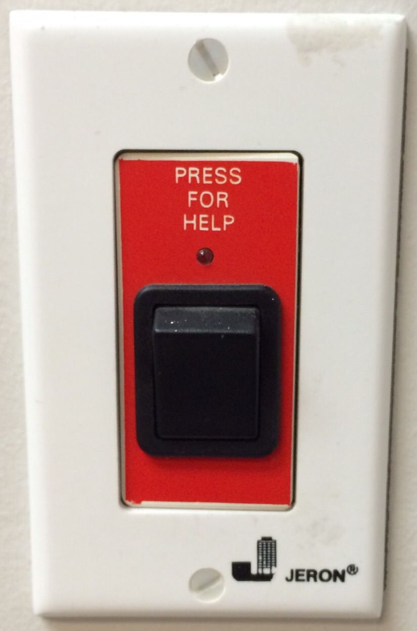 If only it were so easy. Press a button and get the help that you need.