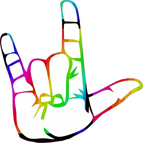 American Sign Language for I Love You