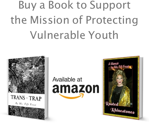 Proceeds from book sales go directly to supporting at-risk LGBT youth and to the creation of youth shelters in the American South.
