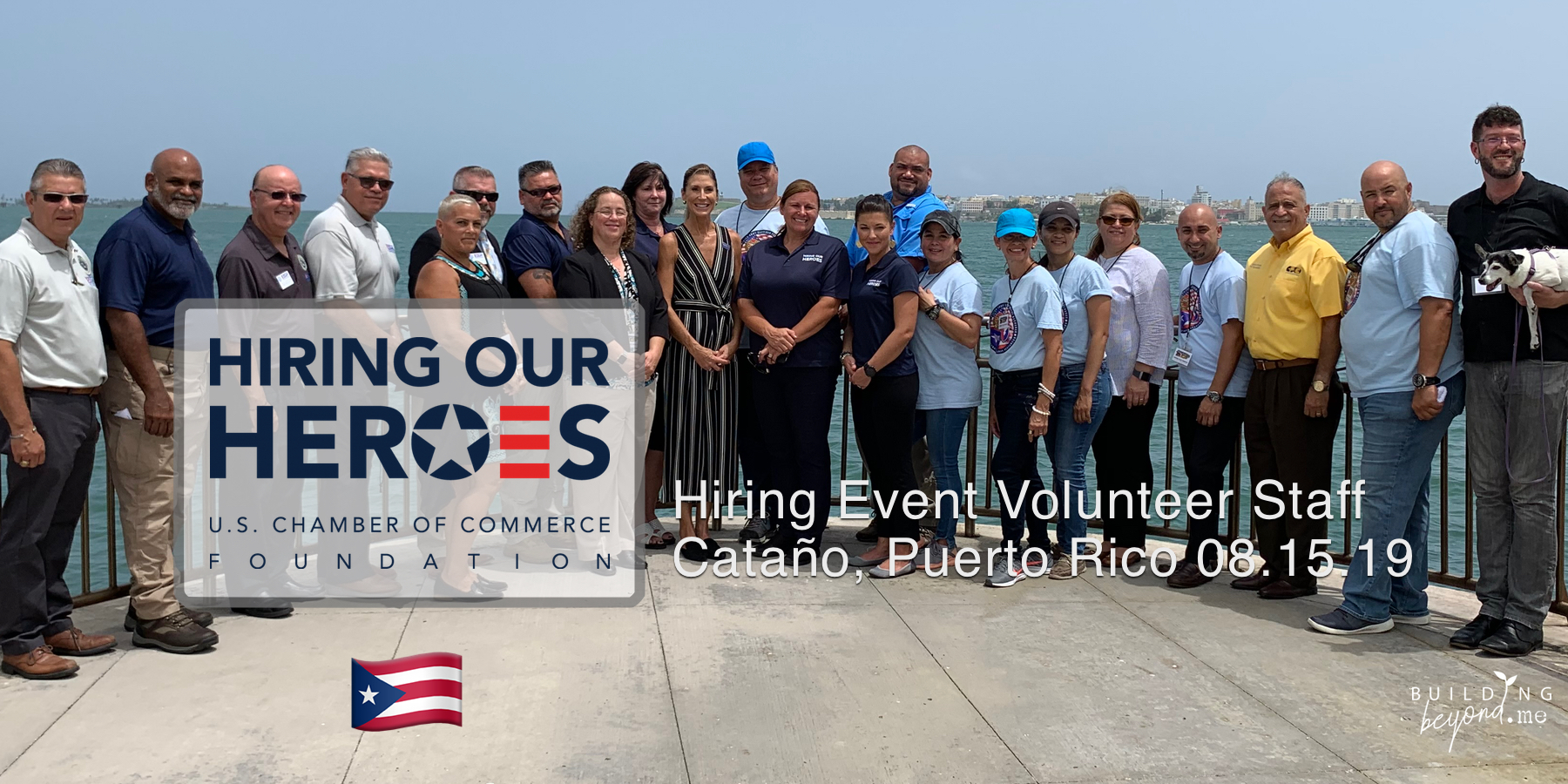 Staff and Volunteers for  Hiring Our Heroes