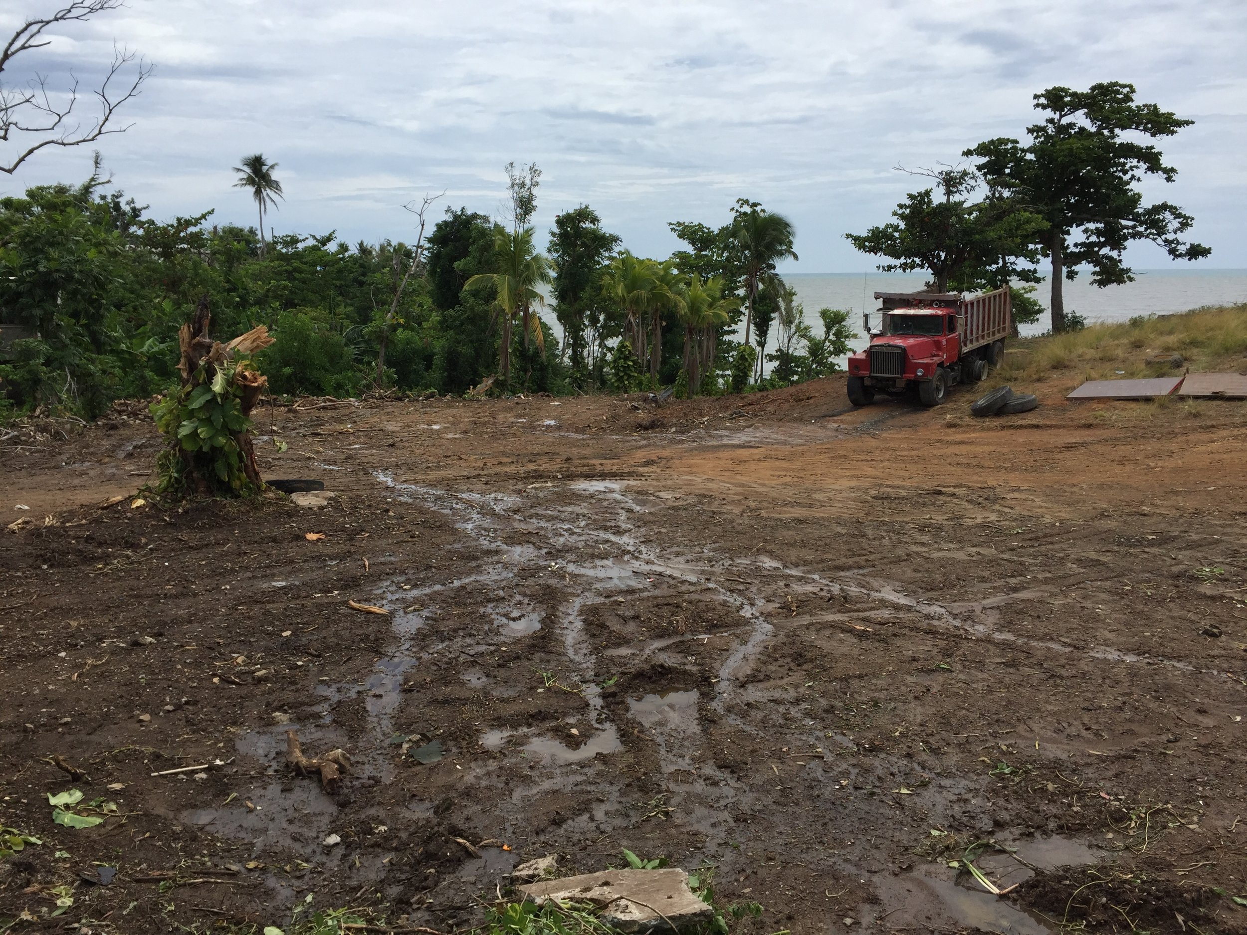 Naguabo, Puerto Rico - A developer destroyed the natural habitat and turned a healthy watershed into mud where nothing could live