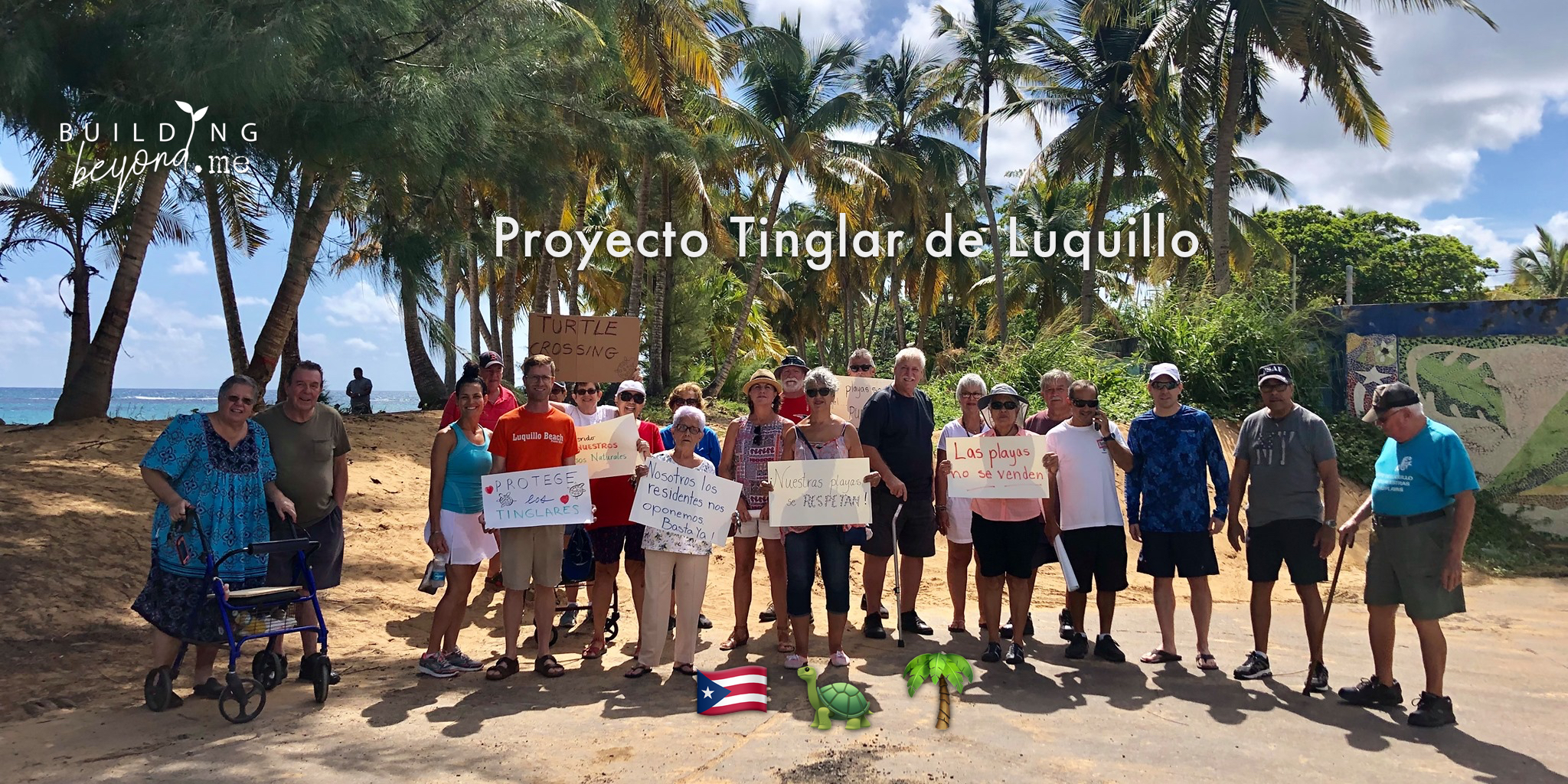 Everyone knows that turtles are in danger of losing nesting grounds all over the world. Here in Puerto Rico, we can still save one, and the community is coming together to try to get it done.