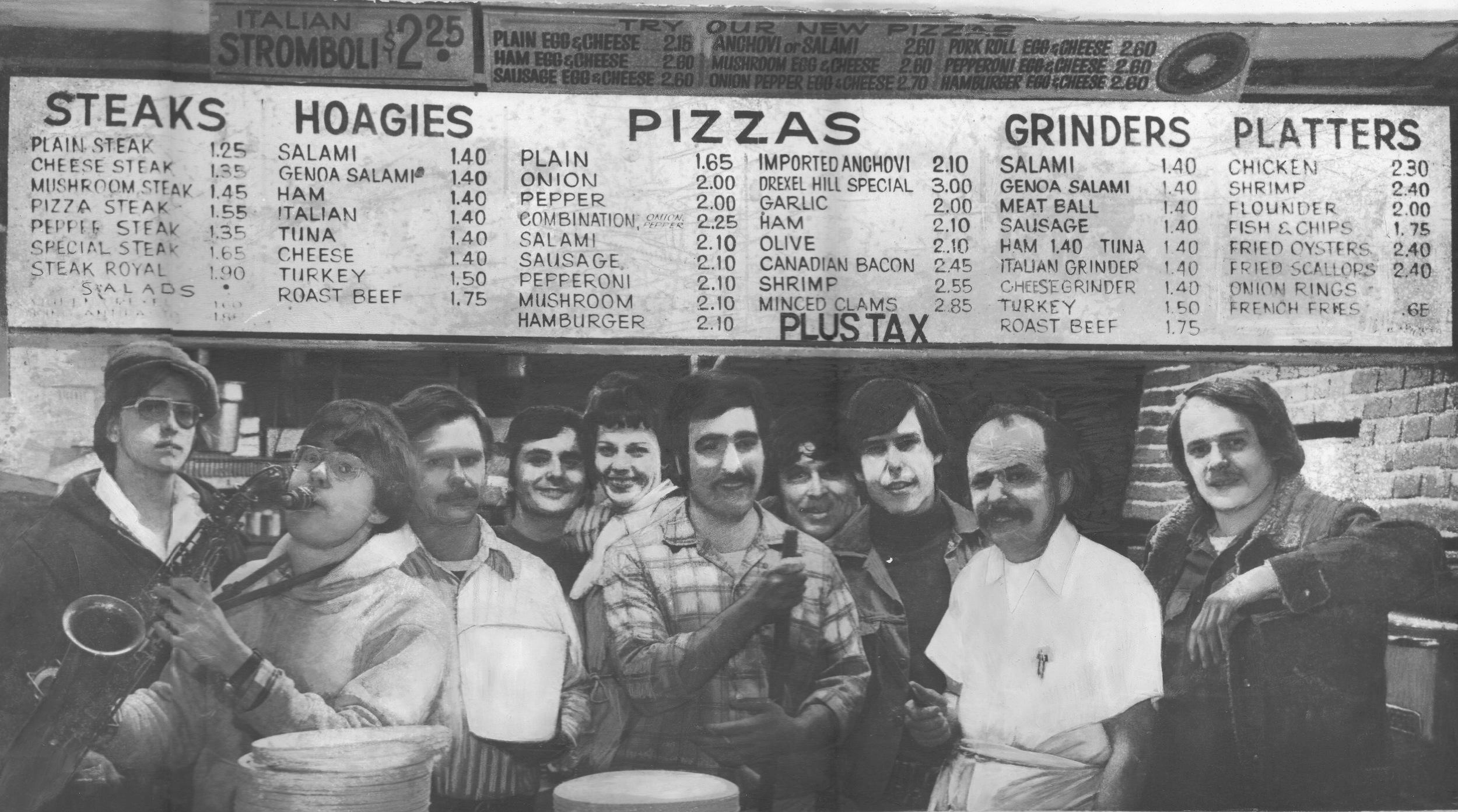 Drexel Hill Style Pizza - circa 1976