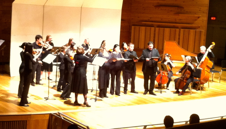 Bach Cantata 30 with Rutgers Baroque