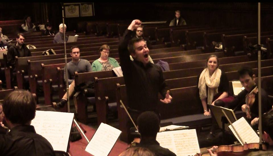 Conducting John Corigliano's Fern Hill