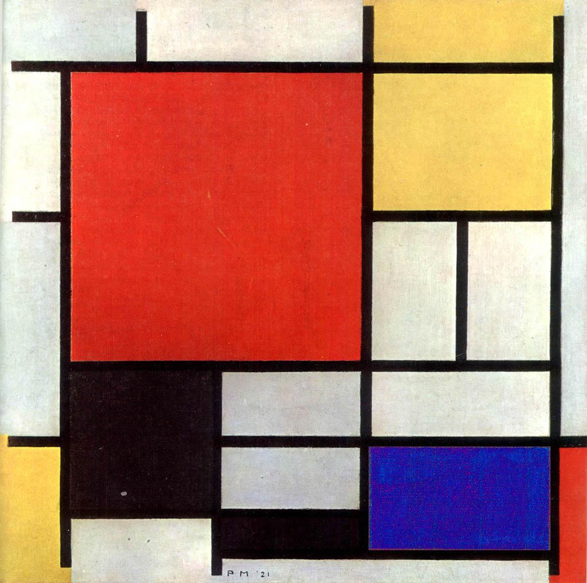 Piet Mondrian, le vrai