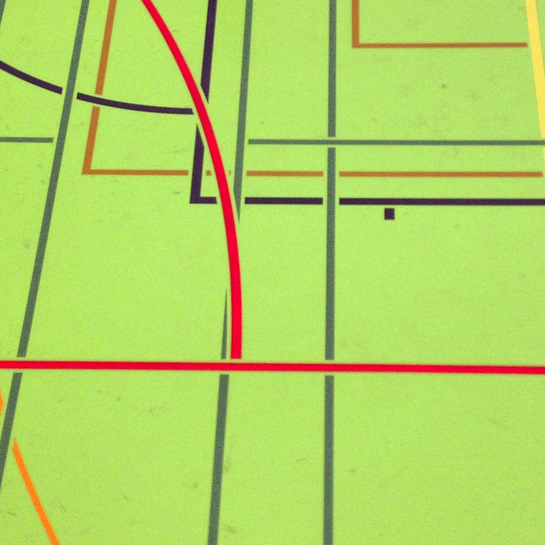 Piet Mondrian, version salle de sport