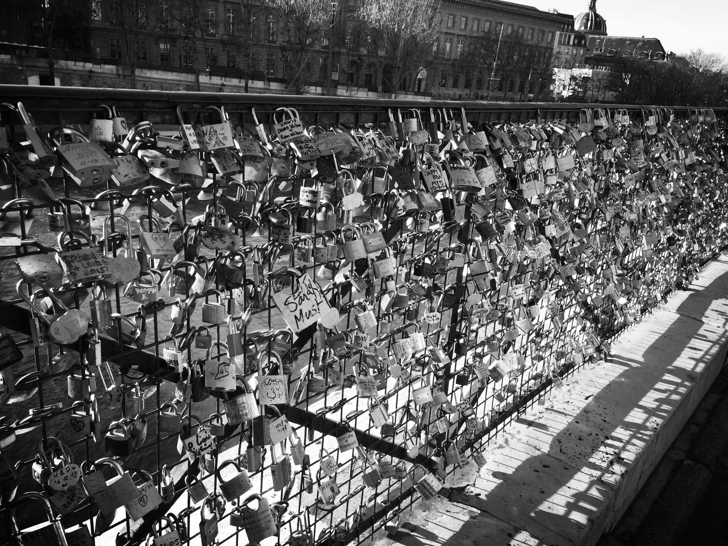 Le Pont des Amours, celui de la ville, celui de la vie