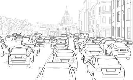 Le défilé des voitures, défilé de comportements.