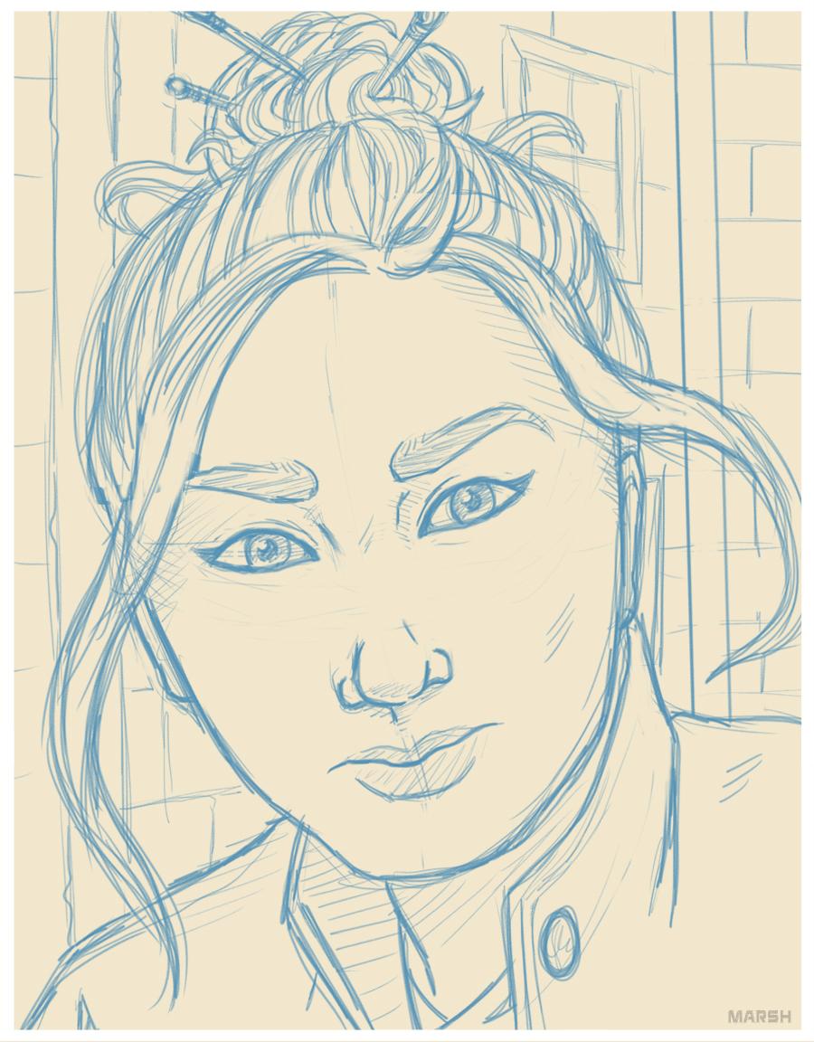 Mei -  D&D Portrait