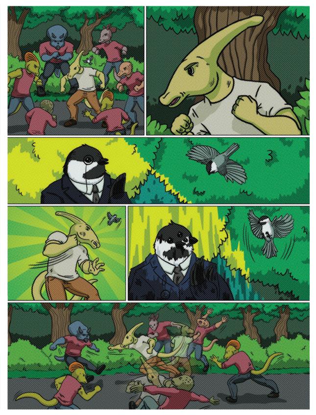 Promotional Comic -  Byrd & Bird
