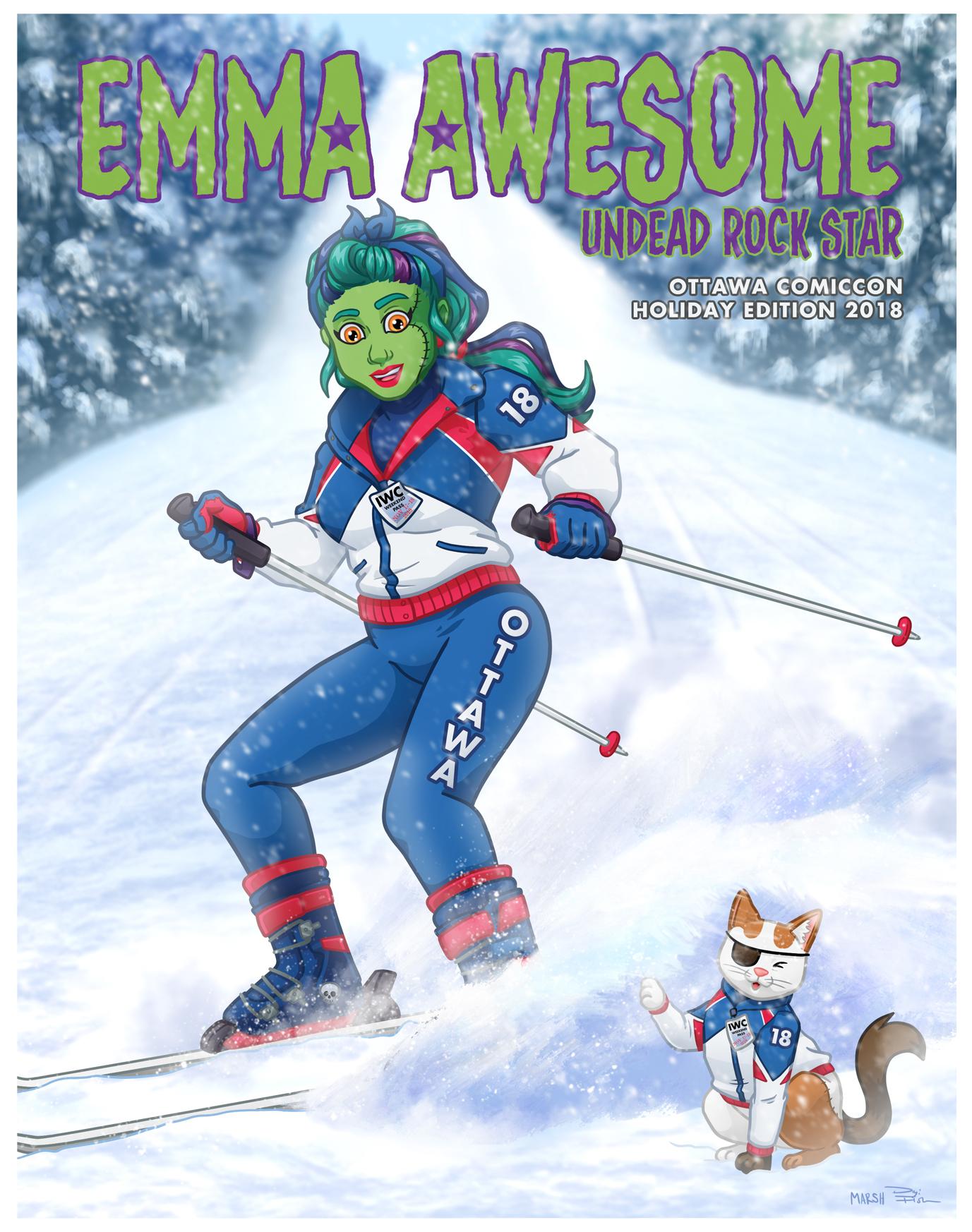 Emma Awesome - Ottawa Comiccon: Holiday Edition