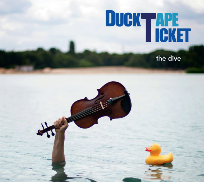"""the dive"" Album-Cover high resolution für print"