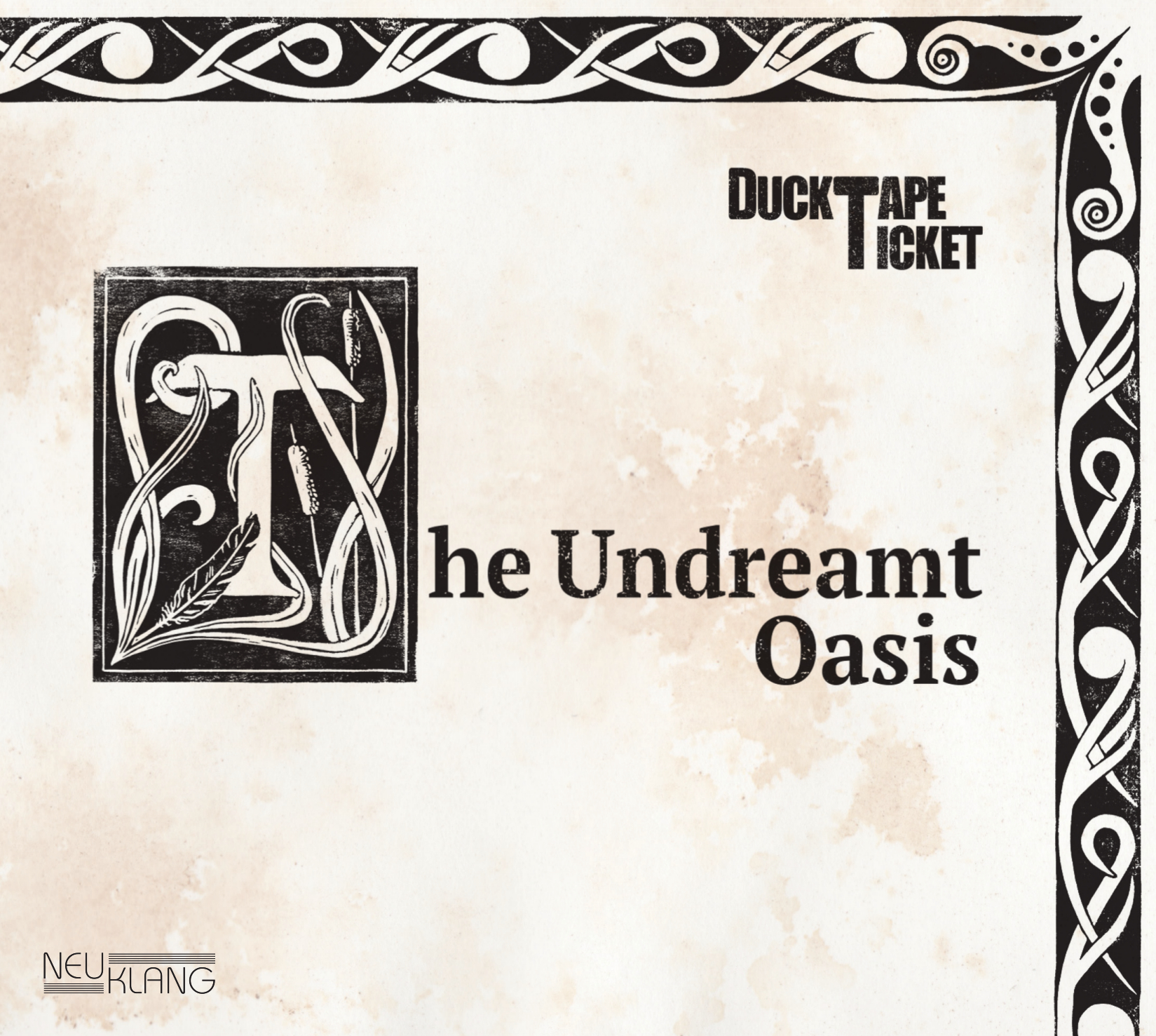 The Undreamt Oasis Cover - print