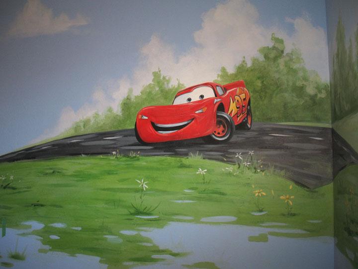 CARS MURAL