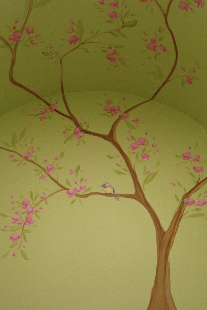 TREE BLOSSOM MURAL