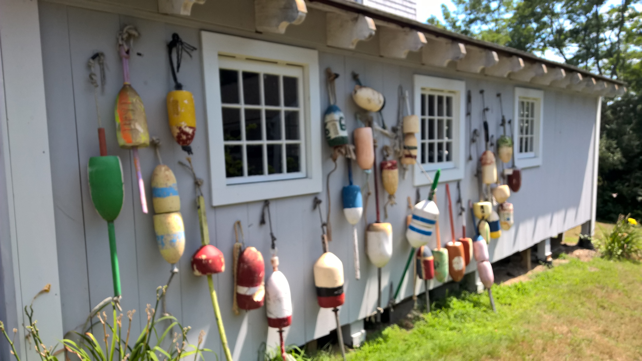 Buoys on the Boathouse