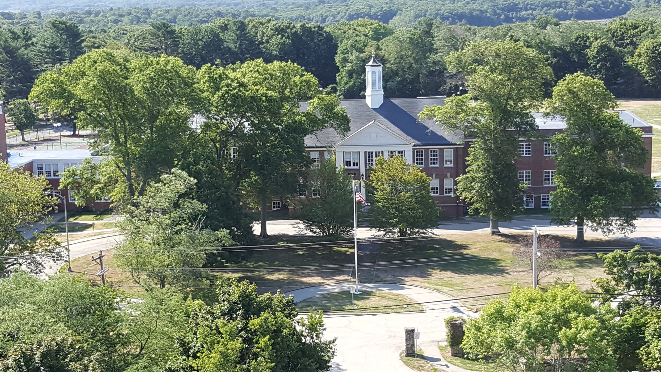 Lester J. Gates School from Lawson Tower
