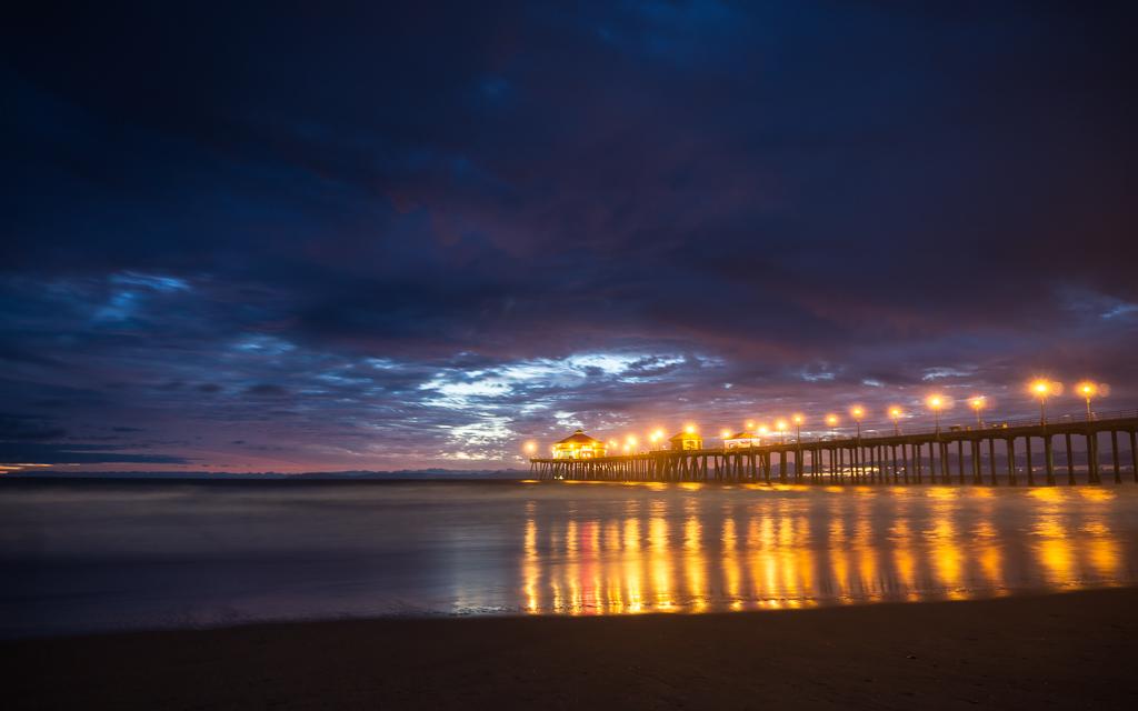Blue Hour - HB Pier.