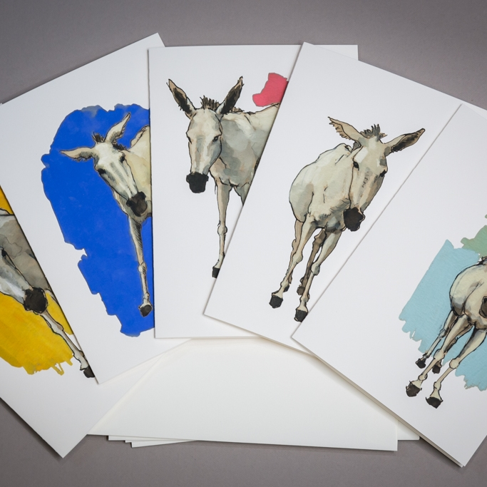 Donkey Series Gift Cards