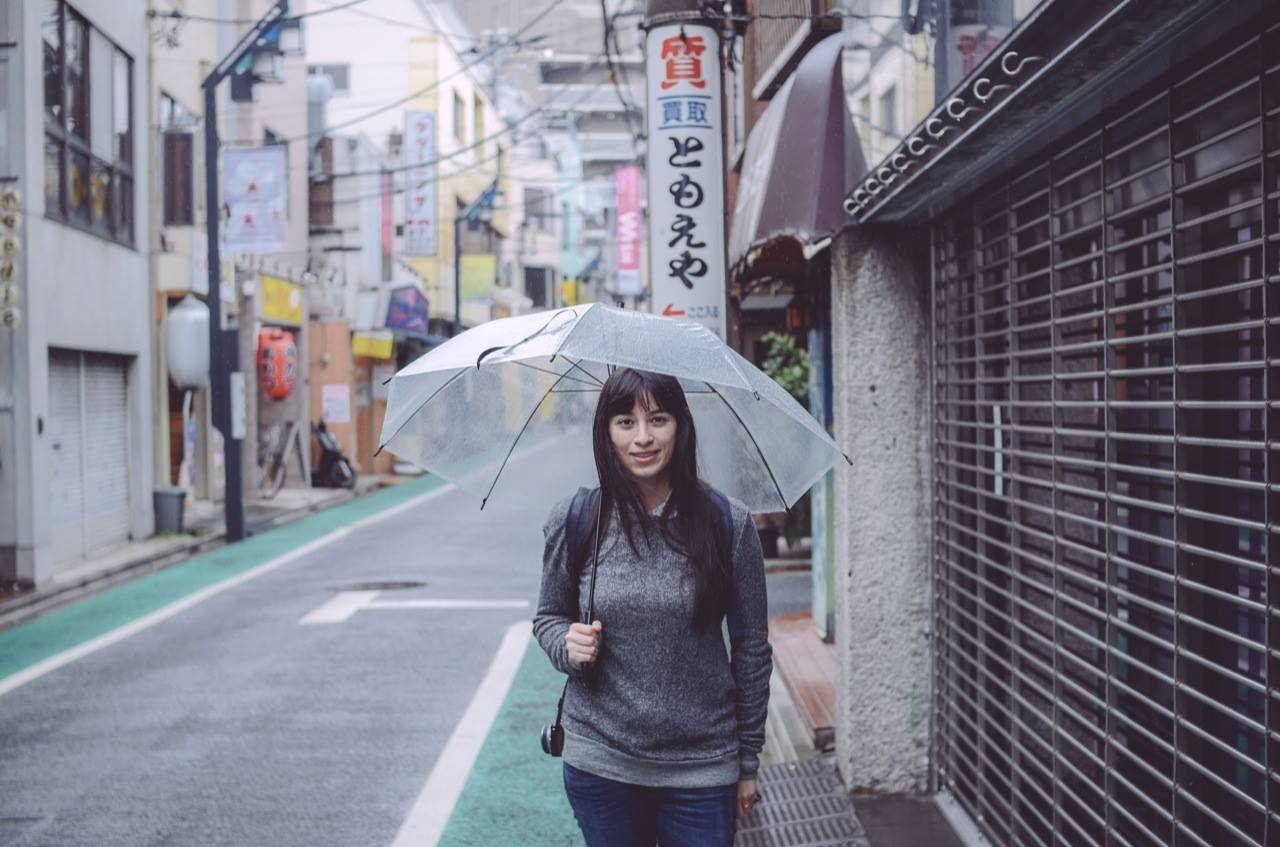 This is me walking in the streets of Shimokitazawa, Tokyo. Photo credit  Matt Schroeter