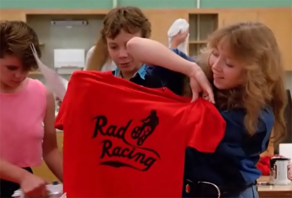 The ill Rad Racing black-on-red.