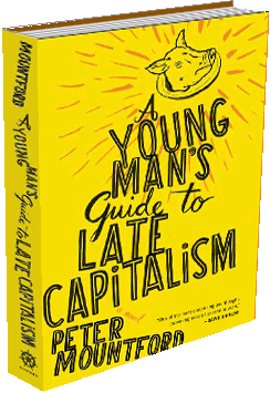 A Young Man's Guide to Late Capitalism  by Peter Mountford  From Houghton Mifflin Harcourt, April 2011.