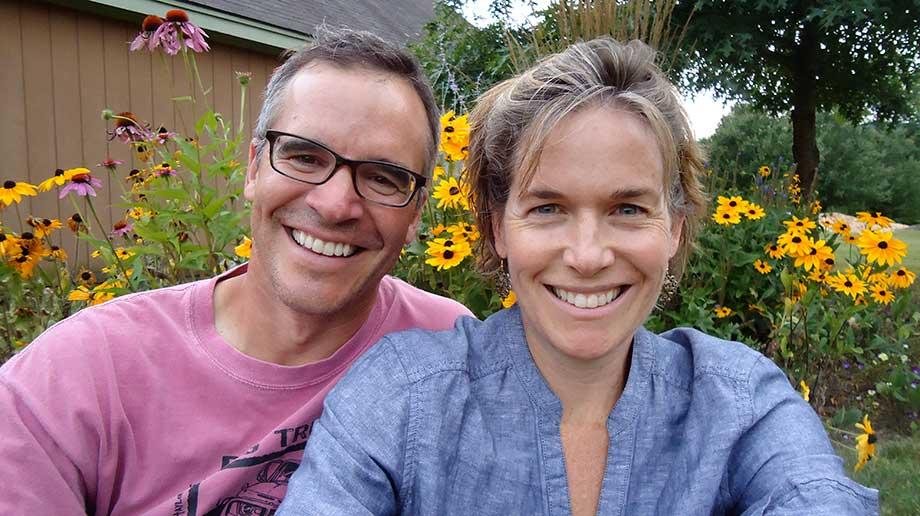 Farmers Jim & Annie Schultz
