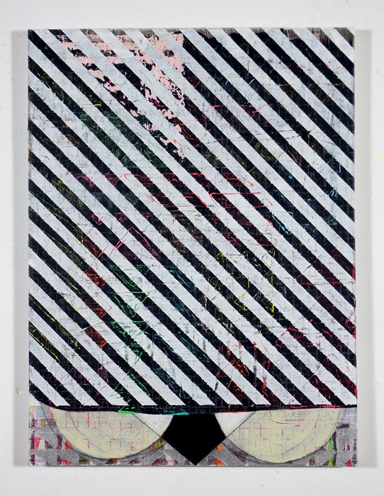 "NY12#11,mixed media on panel,16"" x 12"",2012  available at Etsy   limited edition print at Art.com"