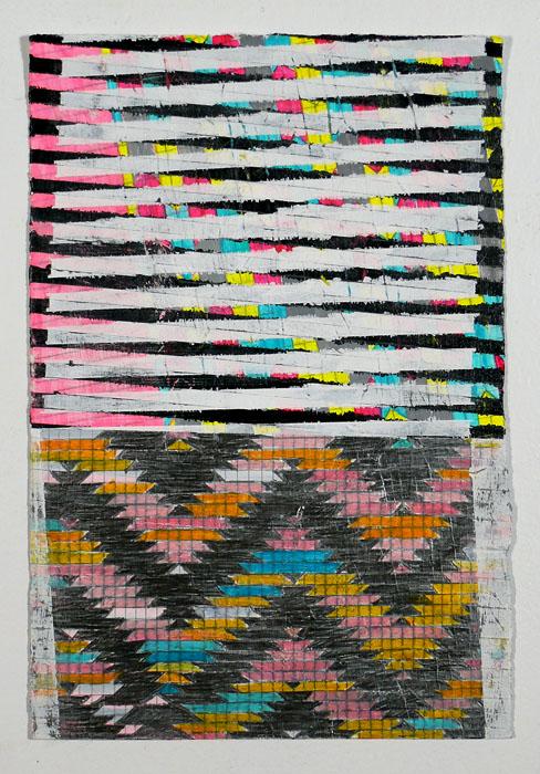 "NY12#16,11"" X 7.5"",mixed media on paper,2012  S OLD  prints at Art.com"