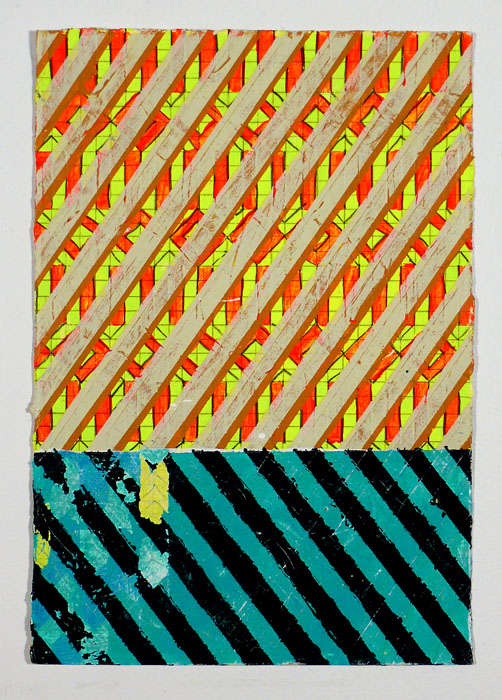 "N Y12#17,11"" X 7.5"".mixed media on paper,2012 SOLD  prints at Art.com"