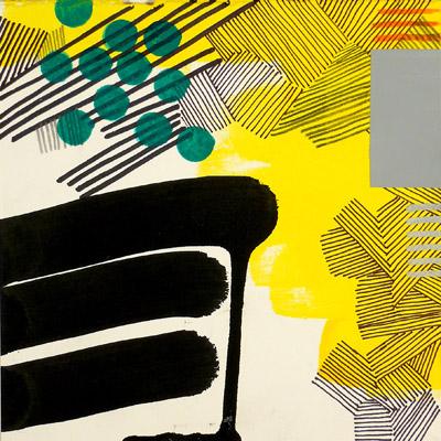 """NY10#17,7"""" x 7"""",mixed media on paper,2010, SOLD"""