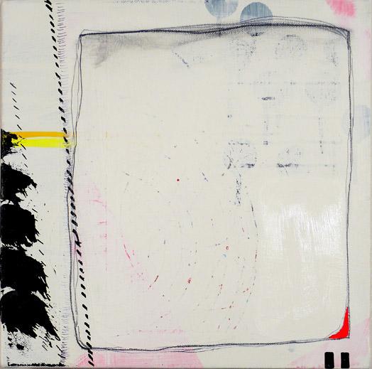 """NY10#22,12"""" x 12"""",mixed media on canvas,2010"""