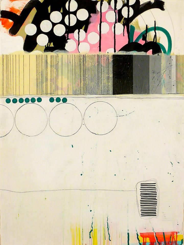 """NY10#21,30"""" x 22"""",mixed media on paper,2010  available at Etsy"""