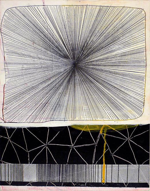 "NY10.#26,14""x11"",mixed media on panel,2010  available at Jen Bekman Gallery"