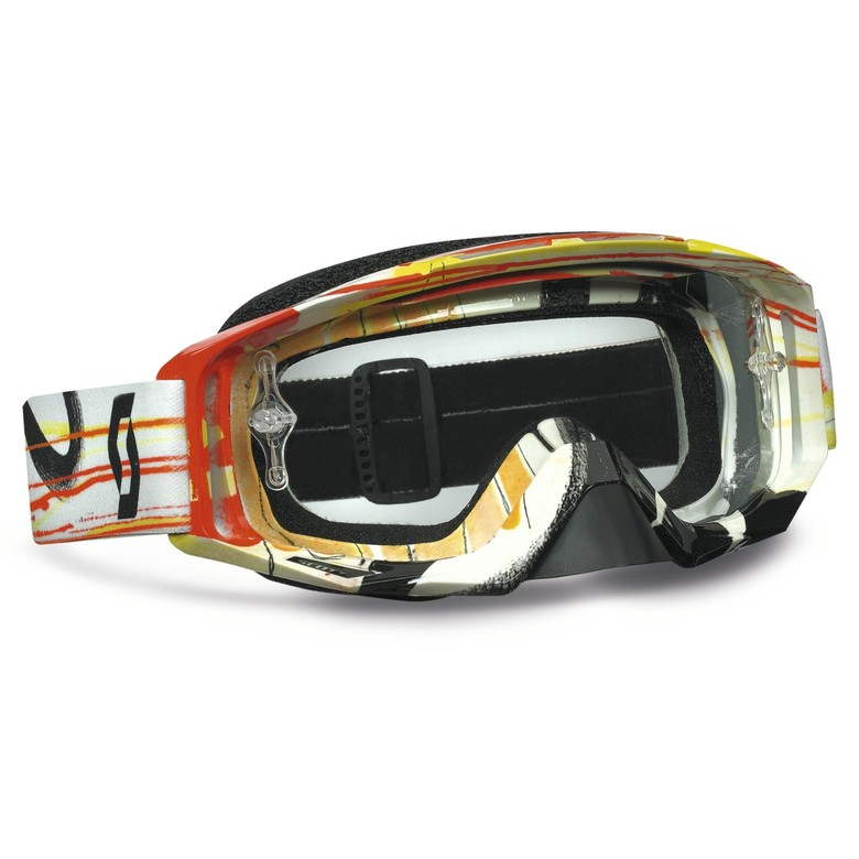 These are Scott motocross goggles based on the painting  NY10#13