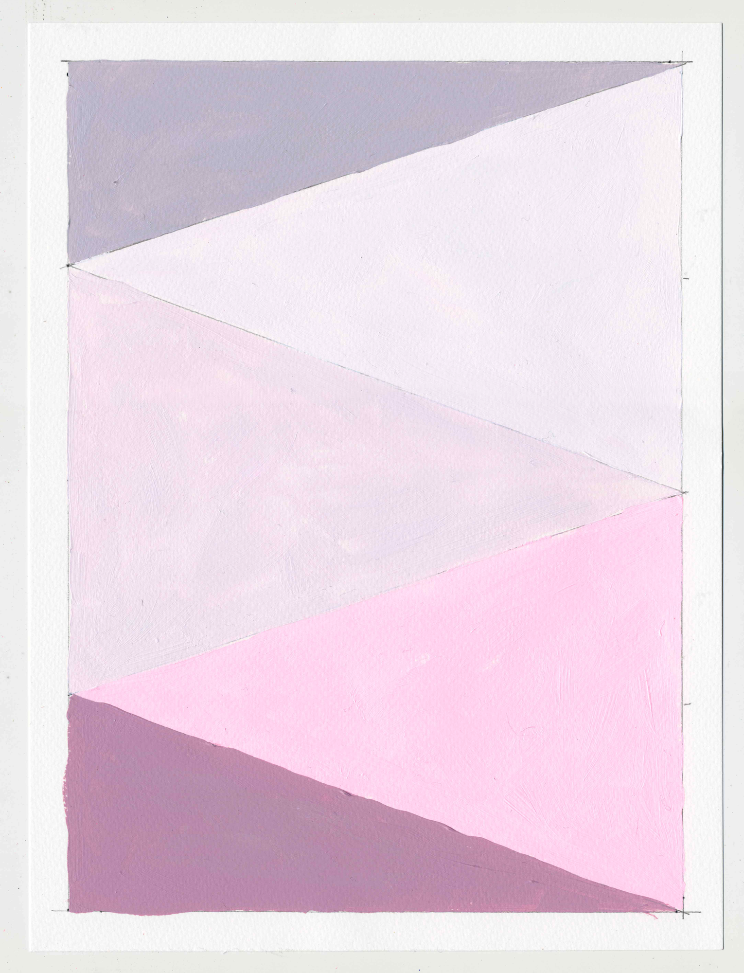 """NY16#63  , 12"""" X 9"""", acrylic on paper, 2016  Available at Etsy"""